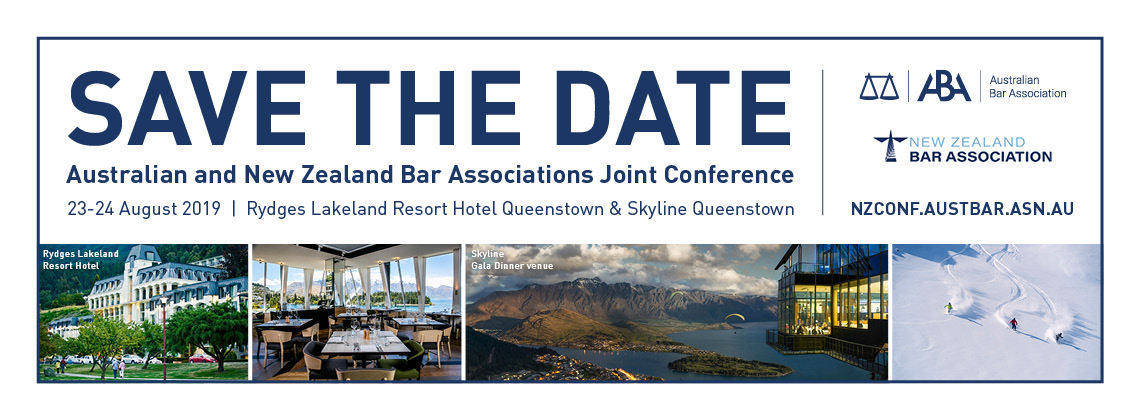 Australian and New Zealand Bar Associations Joint conference